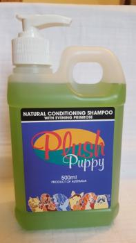 PLUSH PUPPY - Natural Conditioning Shampoo with Evening Primrose 500ml