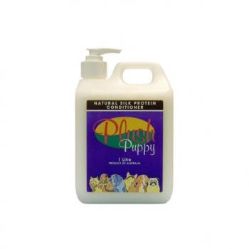 PLUSH PUPPY - Natural Silk Protein Conditioner 1Ltr
